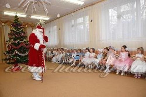 Сценарий нового года в детском саду