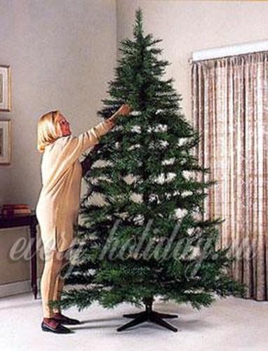 Как распушить искусственную елку