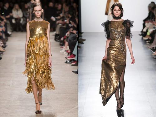 коричневый оттенок платья