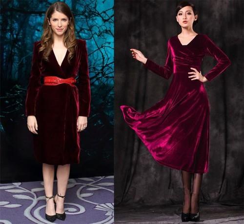 темно бордовое платье
