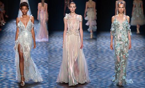перламутровый цвет платья