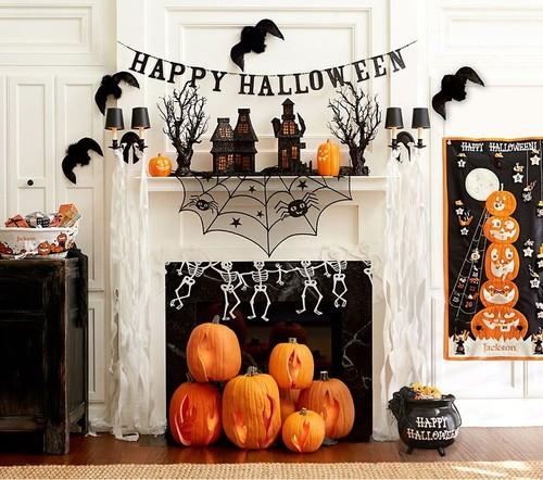 Как украсить дом на Хэллоуин своими руками: фото пошагово, мастер-классы