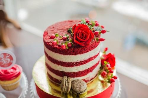 Торт Красный бархат: классический рецепт с фото пошагово (видео) – лучшее