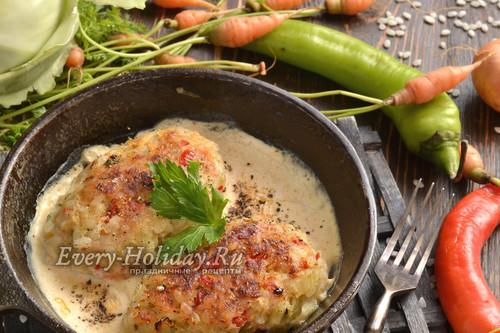 Ленивые голубцы на сковороде: рецепт с фото пошагово
