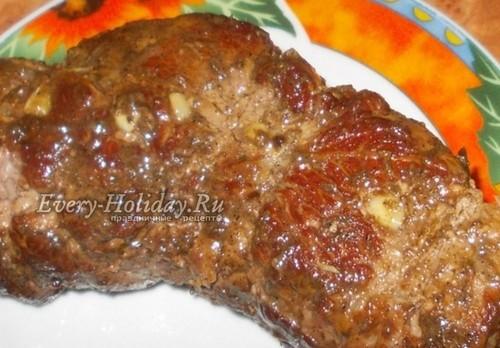 Буженина из говядины в домашних условиях: рецепт с фото