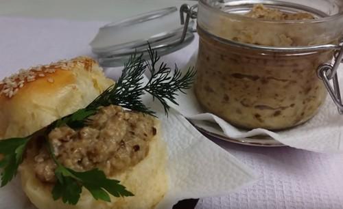 Грибная икра из вареных грибов: самый вкусный рецепт с фото пошагово