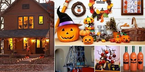 Как украсить дом на Хэллоуин 2021 своими руками: фото пошагово